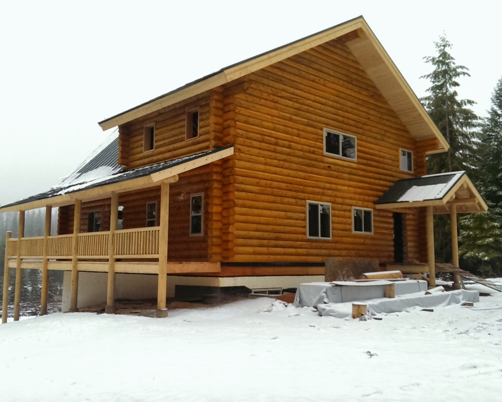 100 Home Plans Log Homes Spokane Projects